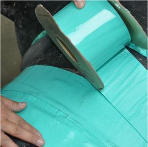 China オイル ガス水パイプラインの腐食防止のコーティング テープ フランジ及び弁 on sale