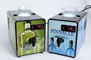 Quality Fashion Design Liquor Shot Chiller Dispenser 80w With 900ml Inner Tank for sale