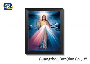 China High Definition 3D Lenticular Religion Pictures Religion Theme CMYK Offset Printing on sale