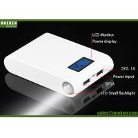 Dual USB LED Electric 18650 Power Bank For MP4 Players / Digital Cameras