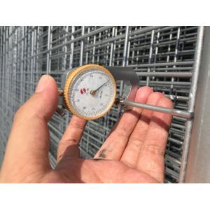 China La clôture provisoire galvanisée plongée chaude en vente à Perth 2100mm x 2400mm, 1800mm x 2400mm, adapté aux besoins du client te possèdent la taille on sale