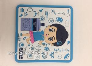 China Factory Supply Soft PVC rubber Table Coasters for promotion gifts on sale