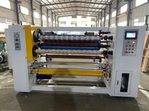 China Automatic BOPP Self Adhesive Scotch Tape Slitting Rewinding  Making Machine on sale