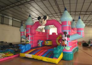 China Mickey Mouse Kids Inflatable Bounce House 4.5 X 5 X 3.5m For 3 - 15 years Old Children on sale