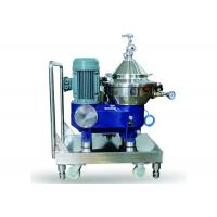 China Industrial Used Milk And Cream Separator / Milk Skimming Disc Centrifuge on sale