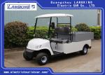 2 Seaters Electric Car , Electric utility carts 48V/3KW With Bucket 80km range for hotel