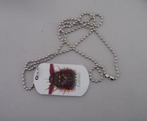 China printed dog tag,metal tag ,hang tag on sale