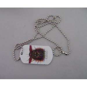 China printed dog tag,metal tag ,hang tag on sale