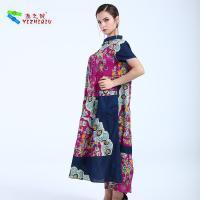 YIZHIQIU Cotton Printing Patterns Fashion Dress