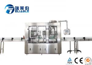 China Automatic Carbonated Drink Glass Bottle Filling Machine Plant Stainless Steel 304 on sale
