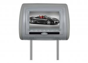 China HD Car Headrest DVD Players Leather Design for Audi / Lexus on sale