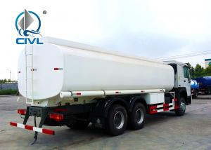 China White Color Sinotruk Howo7 Radial Tyre Fuel Oil Transportation Trucks 6X4 LHD Euro 2 336HP Lengthened Cab on sale