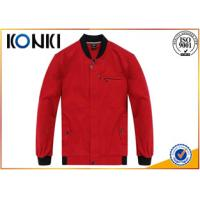 Various Color Custom Jackets , Work Uniform Jackets Embroidered