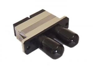 China High Return Loss SC / PC ST / PC MM Fiber Optic Adapter for Active Device Termination on sale