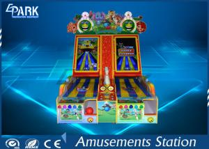 China Indoor electronic coin operated amusement bowling game machine on sale