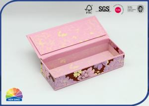 China Girl Student Writing Pencil Case Stiff Paper Box Magnetic Box on sale