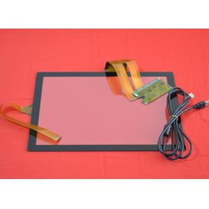 China 1.8mm 10 Point Capacitive Touch Screen For Restaurant Order Machina Panel on sale