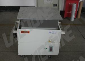 China Components Testing Mechanical Shaker Table 765 * 525 * 690mm With Damping Airbag on sale