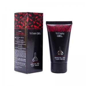China Titan Gel Male Enhancement Cream Max Size Enlargement for Men Penis Provocative on sale