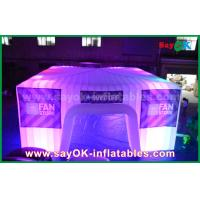Dome Inflatable Air Tent for Camping , Giant Bubble Led Party Tent