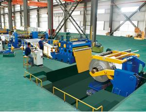 China High Speed GI  / Aluminum / Steel Coil Slitting Line With Cold Rolled Sheet Thickness 0.3- 2.0mm on sale