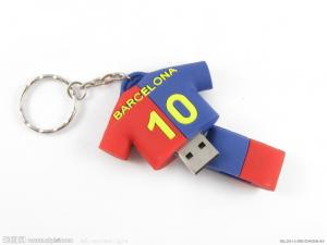 China la coutume de 2gb/4gb 8gb a formé des commandes d'Usb avec le logo de chemise du football on sale