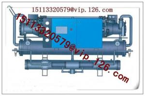 China Screw compressor Water cooled chiller for central air conditioning and industry on sale