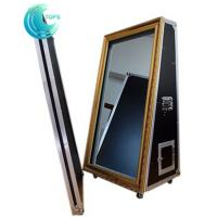 Automatic 65 inch magic new year mirror me selfie mirror photo booth for events