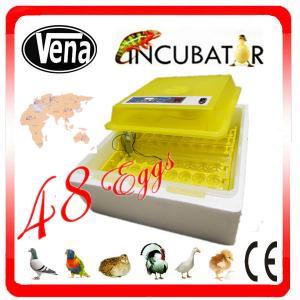 China VA-48 High efficient mini incubators for hatching eggs 48 chicken egg incubator on sale
