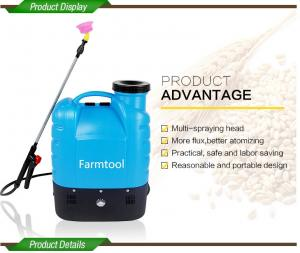 China High Pressure Backpack Weed Killer Sprayer For Agriculture And Garden With 3 Free Spraying Nozzles on sale