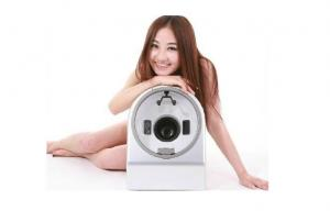 China Magic Mirror System Skin Analyzer Magnifier Machine With 8 inch Touch Screen on sale
