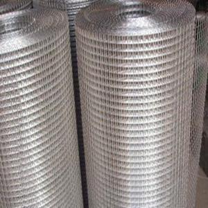 China SS 304 Stainless Steel Welded mesh wire grid:1/4 inch (6.4mm),diameter:1.0mm,1.2mm on sale