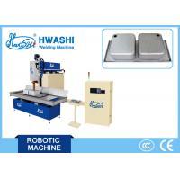 Automatic Stainless Steel Kitchen Sink Seam Welder , Inset Sink CNC Seam Welding Machine