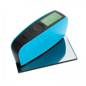 China Plastic Wood Paint Ink Digital Gloss Meter Stable Performance 60° Angle For Semi Gloss on sale