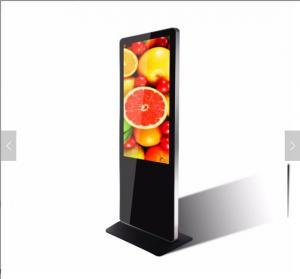China LCD Advertising Indoor Digital Signage Totem 43'' Floor Stand 1920*1080P 8GB Memory on sale