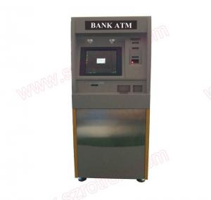 China Smart design touchscreen Self service Banking coin split ATM machine with coin acceptor and coin hoppers on sale