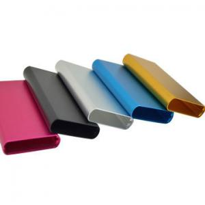 China 6063 T5 Color Anodized Aluminium Extruded Profiles For Enclosures Electronic Products on sale