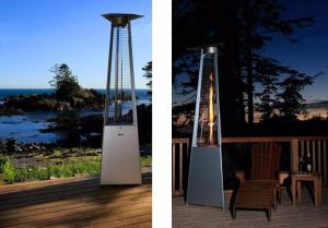 China Residential Portable Triangle Patio Heater For Any Outdoor Gathering 2.3m Height on sale