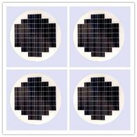Round Transparent Solar Panel Glass Photovoltaic High Conversion For Vehiches
