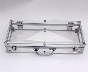 China Acrylic panel case for presentation purpose on sale