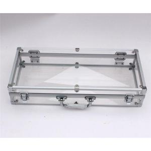China Acrylic panel case for presentation purpose on sale