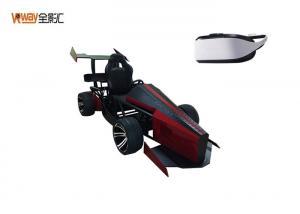 China Dynamic Control Race Car Simulator / F1 Simulator 3D Sound Comfortable Helmet on sale