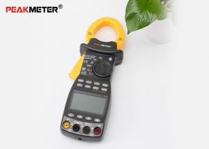 China Black Electrical Digital Power Clamp Meter Multimeter With AC RMS Low Battery Indication on sale