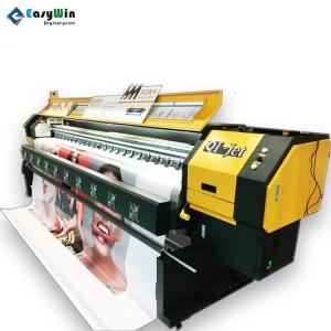 China Original Human Qi-Jet Inkjet 3.2m Printer 4/6/8 Heads Konica 512i Solvent Printer Machine Yellow on sale