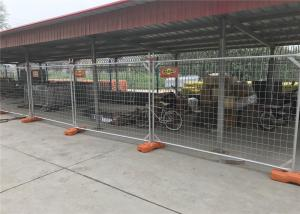 China Temporary Fencing panels suppliers Canberra ACT area 2100mm x 3300mm temp site construction panels as4687-2007 standard on sale