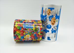 China Les pommes chips mates de film de petit pain de stratification de BOPP empaquetant l'ANIMAL FAMILIER du film BOPP stratifié métallisent l'ANIMAL FAMILIER (VMPET) et le PE on sale