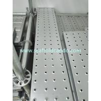 Replacement of wooden plank wooden board in Middle East, galvanized scaffolding steel plank, 225*38mm steel board