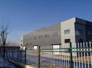 China Large Span Structural Steel Prefabricated Warehouse Buildings In Steel on sale