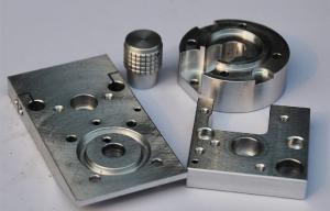 China Wild Steel CNC Machined Prototypes With Electroplating , Chromatization on sale