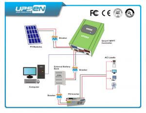 China Solar Panels Charger / Regulator with Real Mppt Function 10Amp - 60Amp on sale